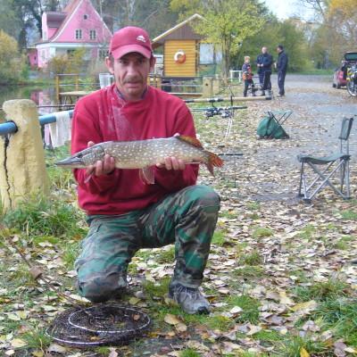 Rybolov Pateřinka