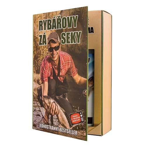 Dárkové balení kosmetiky - Kniha pro rybáře